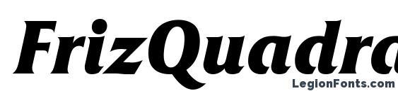 FrizQuadrataATT BoldItalic font, free FrizQuadrataATT BoldItalic font, preview FrizQuadrataATT BoldItalic font