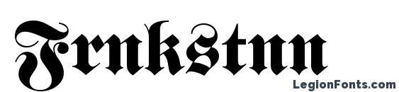 Frnkstnn Font