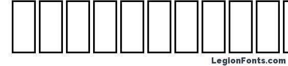 FS Kofi Ahram Stripe Font