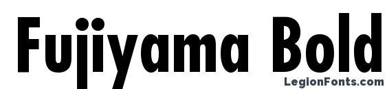 Fujiyama Bold Font