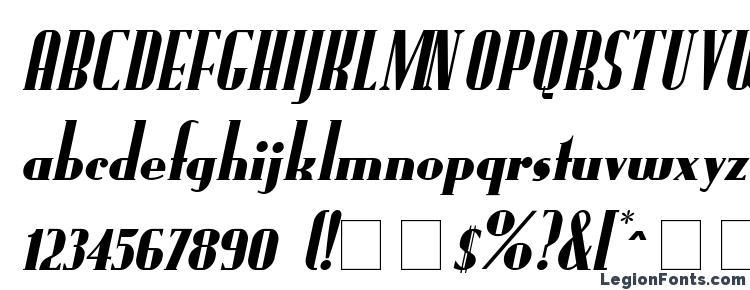 glyphs FundRunk Italic font, сharacters FundRunk Italic font, symbols FundRunk Italic font, character map FundRunk Italic font, preview FundRunk Italic font, abc FundRunk Italic font, FundRunk Italic font