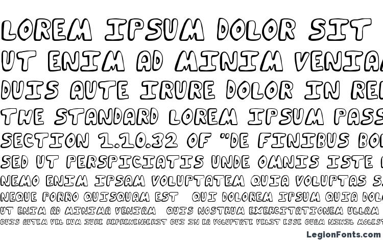 specimens Funky Muskrat Regular font, sample Funky Muskrat Regular font, an example of writing Funky Muskrat Regular font, review Funky Muskrat Regular font, preview Funky Muskrat Regular font, Funky Muskrat Regular font
