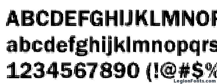 глифы шрифта Funky12 Bold, символы шрифта Funky12 Bold, символьная карта шрифта Funky12 Bold, предварительный просмотр шрифта Funky12 Bold, алфавит шрифта Funky12 Bold, шрифт Funky12 Bold
