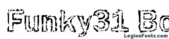Funky31 Bold Font