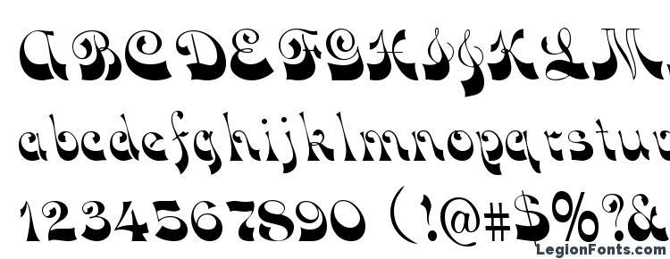 glyphs FunkyFace Regular font, сharacters FunkyFace Regular font, symbols FunkyFace Regular font, character map FunkyFace Regular font, preview FunkyFace Regular font, abc FunkyFace Regular font, FunkyFace Regular font