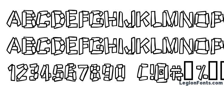 глифы шрифта Funkystoneage, символы шрифта Funkystoneage, символьная карта шрифта Funkystoneage, предварительный просмотр шрифта Funkystoneage, алфавит шрифта Funkystoneage, шрифт Funkystoneage