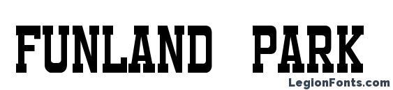 Funland Park JL Font, Stylish Fonts