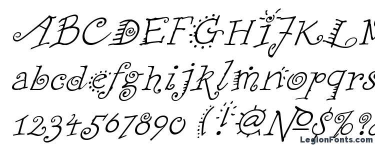 глифы шрифта FunstuffXitalic Regular, символы шрифта FunstuffXitalic Regular, символьная карта шрифта FunstuffXitalic Regular, предварительный просмотр шрифта FunstuffXitalic Regular, алфавит шрифта FunstuffXitalic Regular, шрифт FunstuffXitalic Regular
