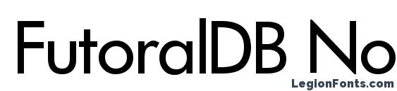 Шрифт FutoralDB Normal