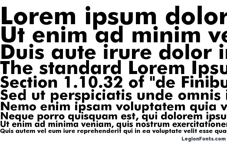Futura Bold BT Font Download Free / LegionFonts