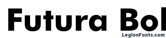 Шрифт Futura Bold BT