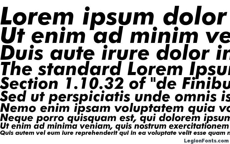 Futura Bold Italic BT Font Download Free / LegionFonts
