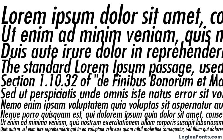specimens Futura Condensed Italic font, sample Futura Condensed Italic font, an example of writing Futura Condensed Italic font, review Futura Condensed Italic font, preview Futura Condensed Italic font, Futura Condensed Italic font
