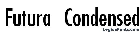 шрифт Futura Condensed Thin, бесплатный шрифт Futura Condensed Thin, предварительный просмотр шрифта Futura Condensed Thin