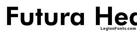 Futura Heavy BT Font Download Free / LegionFonts