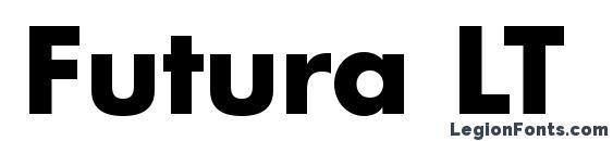 Futura LT Bold Font