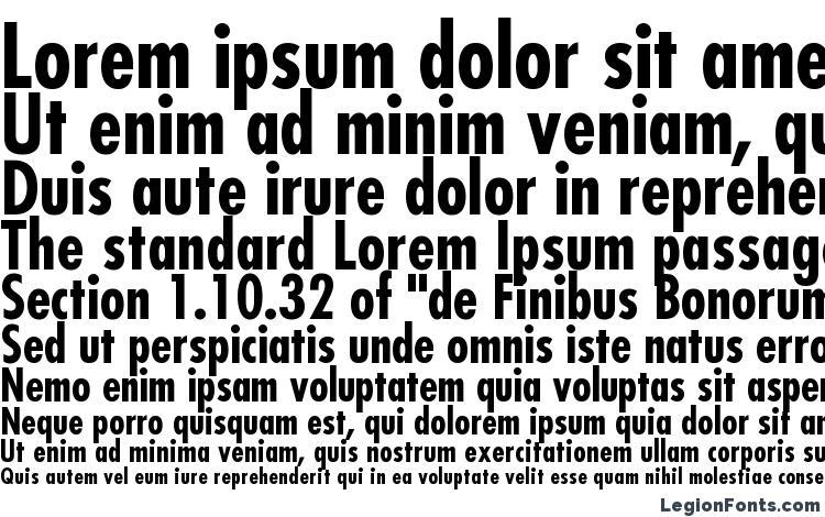 Futura LT Condensed Bold Font Download Free / LegionFonts