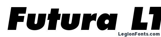 Futura LT Extra Bold Oblique Font