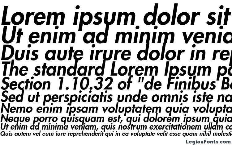 Futura LT Heavy Oblique Font Download Free / LegionFonts