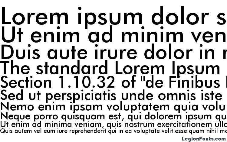 Futura Medium BT Font Download Free / LegionFonts