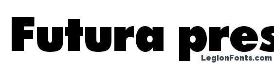 Futura press press font, free Futura press press font, preview Futura press press font
