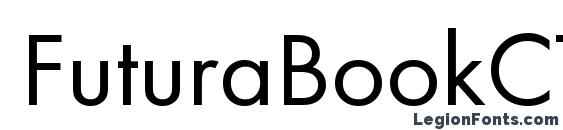 FuturaBookCTT Normal Font