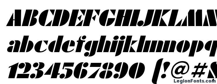 глифы шрифта FuturaEugenia Italic, символы шрифта FuturaEugenia Italic, символьная карта шрифта FuturaEugenia Italic, предварительный просмотр шрифта FuturaEugenia Italic, алфавит шрифта FuturaEugenia Italic, шрифт FuturaEugenia Italic