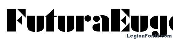 Шрифт FuturaEugenia