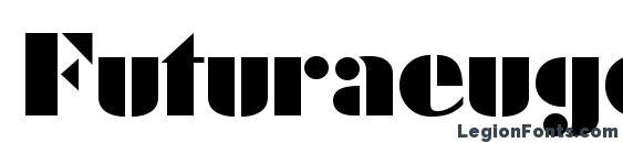 Futuraeugeniactt regular Font