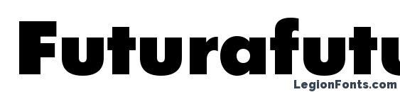 Futurafuturisblackc Font, OTF Fonts