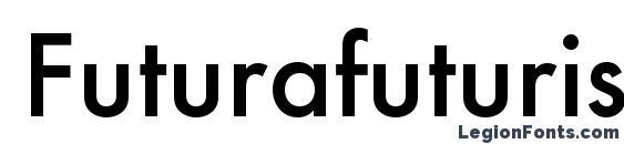 Шрифт Futurafuturisc