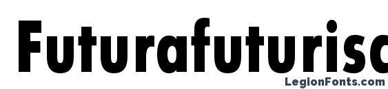 Шрифт Futurafuturiscondboldc