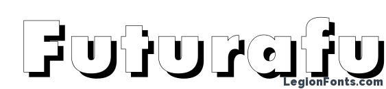 Futurafuturisshadowc bold Font