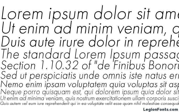specimens Futuralightc italic font, sample Futuralightc italic font, an example of writing Futuralightc italic font, review Futuralightc italic font, preview Futuralightc italic font, Futuralightc italic font