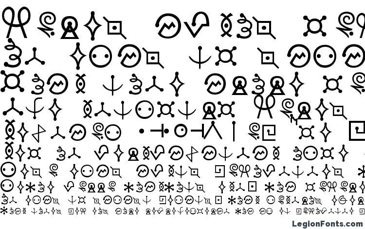 specimens Futurama Alien Alphabet One font, sample Futurama Alien Alphabet One font, an example of writing Futurama Alien Alphabet One font, review Futurama Alien Alphabet One font, preview Futurama Alien Alphabet One font, Futurama Alien Alphabet One font