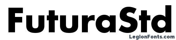шрифт FuturaStd Bold, бесплатный шрифт FuturaStd Bold, предварительный просмотр шрифта FuturaStd Bold