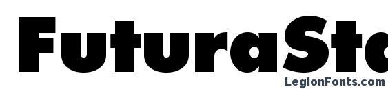 FuturaStd ExtraBold Font