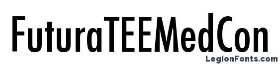 FuturaTEEMedCon font, free FuturaTEEMedCon font, preview FuturaTEEMedCon font