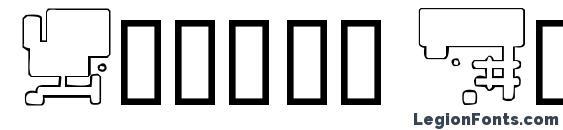 Future Boxes Font
