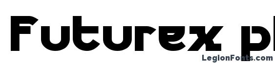 Шрифт Futurex phat