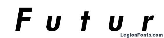 Шрифт FuturistFixedWidth Bold Italic