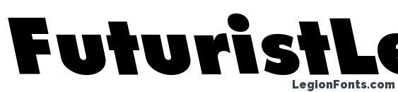 Шрифт FuturistLeftyExtrabold Regular