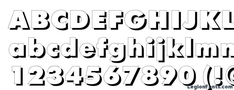 глифы шрифта Futurisxshadowctt regular, символы шрифта Futurisxshadowctt regular, символьная карта шрифта Futurisxshadowctt regular, предварительный просмотр шрифта Futurisxshadowctt regular, алфавит шрифта Futurisxshadowctt regular, шрифт Futurisxshadowctt regular