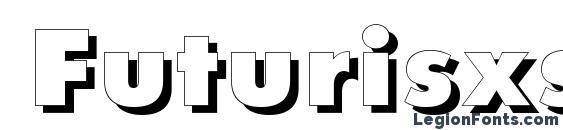 Futurisxshadowctt regular Font