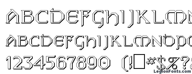 глифы шрифта FZ JAZZY 31 3D, символы шрифта FZ JAZZY 31 3D, символьная карта шрифта FZ JAZZY 31 3D, предварительный просмотр шрифта FZ JAZZY 31 3D, алфавит шрифта FZ JAZZY 31 3D, шрифт FZ JAZZY 31 3D