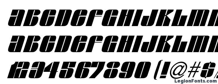 глифы шрифта G761 Deco Italic, символы шрифта G761 Deco Italic, символьная карта шрифта G761 Deco Italic, предварительный просмотр шрифта G761 Deco Italic, алфавит шрифта G761 Deco Italic, шрифт G761 Deco Italic