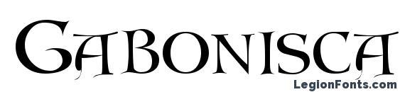 Gaboniscapsssk Font, Stylish Fonts