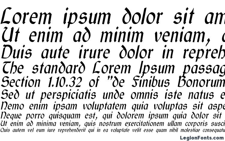 specimens GaelicCondensed Italic font, sample GaelicCondensed Italic font, an example of writing GaelicCondensed Italic font, review GaelicCondensed Italic font, preview GaelicCondensed Italic font, GaelicCondensed Italic font