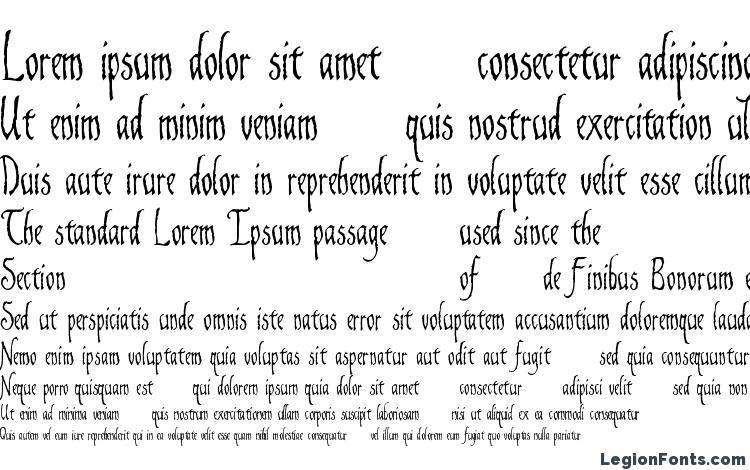 specimens Gaiseric Demo font, sample Gaiseric Demo font, an example of writing Gaiseric Demo font, review Gaiseric Demo font, preview Gaiseric Demo font, Gaiseric Demo font
