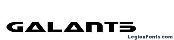 Galant5 Font